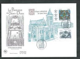 Enveloppe FDC Bloc F 4930 Basilique De Saint Denis - Oblitérés