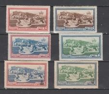 VATICAN  1933 à 1946   N ° 3 à 8  Neuf X  6 Valeurs Série Compl. - Priority Mail