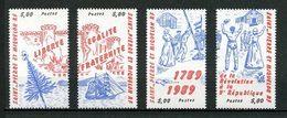 SPM MIQUELON 1989 N° 504/507 ** Neufs MNH Superbes C 11 € Bateaux Sailboats Ships Arbres Trees Révolution Philexfrance - St.Pedro Y Miquelon
