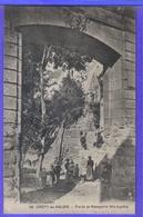 Carte Postale 60. Crépy-en-Valois  Porte Et Remparts Ste-Agathe Très Beau Plan - Crepy En Valois
