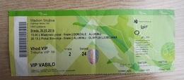 Football Ticket K Aluminij : NK Olimpija 30.5.2018  Slovenian Cup Final SOCCER Slovenia - Tickets - Entradas