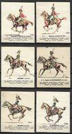 Vieux Papiers Image Chromos Lot De 6 Images Collection Uniforme De La Grande Armée - Chocolat La Suisse Normande - Old Paper