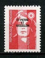 SPM MIQUELON 1993  N° 578 ** Neuf  MNH Superbe C 1.60 € Marianne Du Bicentenaire - St.Pedro Y Miquelon