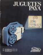 Catalogue PAYA 1975 Coches Aviones Trenes Cinema Tanques Elicopteros - En Espagnol - Boeken En Tijdschriften
