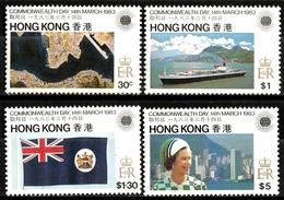 Hongkong S.G. 438-441 Postfrisch MNH (9517) - Hong Kong (...-1997)