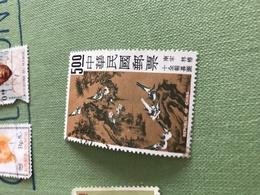CINA ARTE 1 VALORE - Stamps