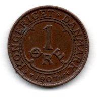 Danemark   -  1 Ore 1907  -  état TTB+ - Denmark
