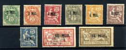 Alexandrie Nº 35/42,45/46. Años 1921/23 - Alexandrie (1899-1931)