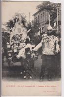 GUEMPS (62) : FETE DU 21 SEPTEMBRE 1913 - JEANNE D'ARC ENFANT- CARTE EN L'ETAT ( MANQUE HAUT DROIT) MAIS RARE ? - 2 R/V- - France