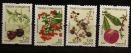 Turquie 2011 N° 3583 / 6 ** Fruits Rouges, Buisson Ardent, Pêcher, Cerisier, Ronce, Pyracantha, Mûres, Cerises, Pêches - 1921-... Republiek