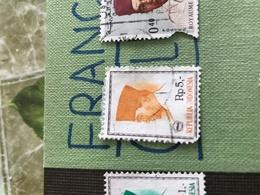 INDONESIA IL SULTANO MARRONCINO 1 VALORE - Stamps