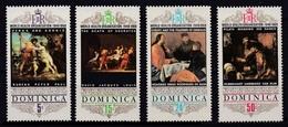 DOMINICA 1968 - ORGANIZACION MUNDIAL DE LA SALUD - OMS - YVERT Nº 237/240** - Dominica (1978-...)