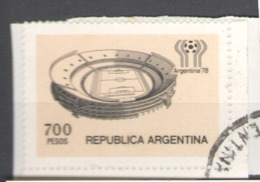 Argentina Used 1978 Football, Soccer, World Cup - River Plate Stadium - Usados