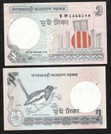 BANGLADESH   P6Ck  2 TAKA  2003 BLACK Signature 12     UNC.    NO  P.h. ! - Bangladesh