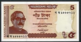 BANGLADESH  P53Aa  5  TAKA    2014  Signature 10b    UNC. - Bangladesh