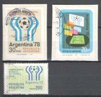 Argentina Used 1977-1978 Football, Soccer, World Cup - Usados