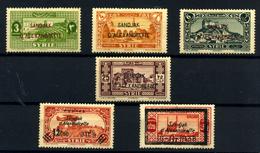 Alexandrette Nº 8/13. Año 1938 - Nuevos
