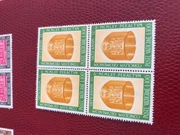 VATICANO ARTE QUARTINA - Stamps