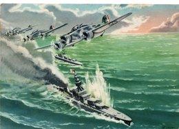 ARMA AERONAUTICA - ........MUSSOLINI - 2 - NON VIAGGIATA - 1939-1945: 2. Weltkrieg