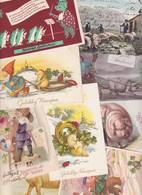 Lot 2411 De 10 CPA CPSM CPM Cochon Pig Déstockage Pour Revendeurs Ou Collectionneurs - Postcards