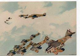 ARMA AERONAUTICA - ........MUSSOLINI - 3 - NON VIAGGIATA - 1939-1945: 2. Weltkrieg