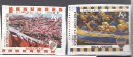 Argentina Used 1999 Football, Soccer, Football Teams - River Plate, Boca Juniors - Used Stamps