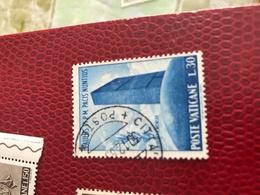 VATICANO NAZIONI UNITE BLU - Stamps