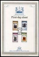 Bophuthatswana Mi# 125-8 First Day Sheet - History Of The Telephone - Bophuthatswana