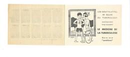 """SANTÉ """"GARE AUX POSTILLONS"""" France INDOCHINE 1 SOU Carnet Antituberculeux 1933  Gomme Parfaite 5 Scans VOIR DESCRIPTION - Antituberculeux"""