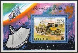Liberia - 1974 Coaches (Old)-Entraîneurs-Trainer (Alte)-Horses-Chevaux-Pferde-Cavalli  ** - Liberia