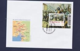 Slovenia FDC 2013 Tolmin Peasant Revolt Souvenir Sheet (G110-58) - Slovenia