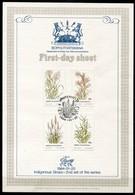 Bophuthatswana Mi# 116-9 First Day Sheet - Flora Grasses - Bophuthatswana