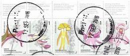 NVPH 3176-3184 - 2014 - Orchideeën Uit Het Gerendal - Gebraucht