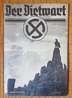 Der Dietwart, 1. Jahrgang Folge 7, 5.8.1935 - German