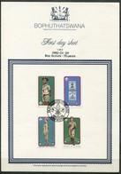 Bophuthatswana Mi# 84-7 First Day Sheet - Boy Scouts Movement - Bophuthatswana