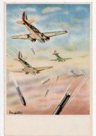 AEROPLANI CAPRONI - 3/2 BIS -  MILANO - NON VIAGGIATA - 1939-1945: 2. Weltkrieg