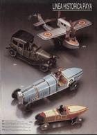 Catalogue PAYA 1988 LINEA HISTORICA Trenes Escala O Auto Avion - Boeken En Tijdschriften