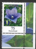 2011  Allm. Fed. Deutschland  Mi.2835 **MNH  EUR  Blumen :  Ballonblume (Platycodon Grandiflorus) - [7] République Fédérale