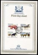 Bophuthatswana Mi# 100-3 First Day Sheet - Fauna - Bophuthatswana