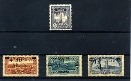 Alaouites Nº 22, 44/46.  Años 1925-28 - Alaouites (1923-1930)