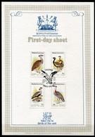 Bophuthatswana Mi# 112-5 First Day Sheet - Fauna Birds - Bophuthatswana