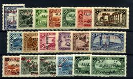 Alaouites Nº 22/40.  Años 1925-28 - Nuevos
