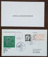 Allemagne - Premier Vol / Lufthansa Erstflug LH 266 BOEING 737 - Köln / Bonn  Wien - 1974 - Brieven En Documenten