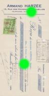BRUXELLES / BRUSSEL  Accessoires De  Pharmacie  Maison Armand Harzée  Rue Des Moineaux - Bills Of Exchange