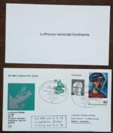 Allemagne - Premier Vol / Lufthansa Erstflug LH 690 DC 10 - Frankfurt / Bombay / Singapore / Jakarta / Sydney - 1974 - Brieven En Documenten