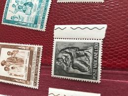 VATICANO ARTE BORDO FOGLIO GRIGIO - Stamps
