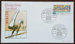 Allemagne Berlin - FDC 1987 - YT N°738 - Pour Le Sport / Fête De La Gymnastique - FDC: Sobres