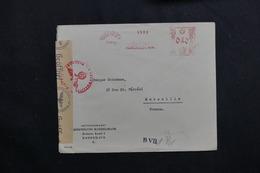 DANEMARK - Enveloppe Commerciale De Copenhague En 1943 Pour La France Avec Contrôle Postal - L 61780 - 1913-47 (Christian X)