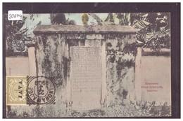 INDONESIE - JAVA - BATAVIA - MONUMENT PIETER ERBERVELD - TB - Indonesia