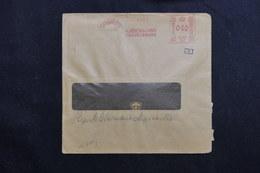 DANEMARK - Enveloppe Commerciale De Copenhague En 1943 Avec Contrôle Postal , Affranchissement Mécanique - L 61781 - Briefe U. Dokumente